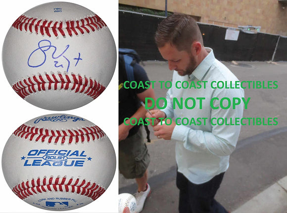 Stephen Vogt Arizona Diamondbacks Oakland A's signed autographed baseball proof