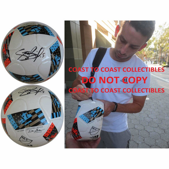 Steve Birnbaum, DC United, Signed, Autographed, Mls Soccer Ball, a Coa with the Proof Photo of Steve Signing the Ball Will Be Included