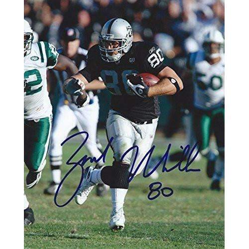 Zach Miller, Oakland Raiders, Arizona State ,Signed, Autographed, 8x10 Photo, Coa/