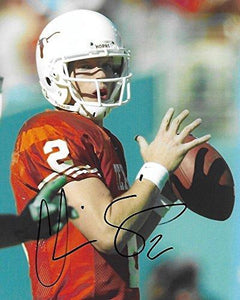 Chris Simms, Texas Longhorns, Signed, Autographed, 8x10 Photo, A COA with the proof photo will be included.