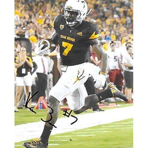 Kalen Ballage, Arizona State Sun Devils, ASU, Signed, Autographed, 8X10 Photo, a COA with the Proof Photo of Kalen Signing Will Be Included,