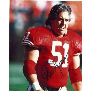 Randy Cross, San Francisco 49ers, Niners, Ucla Bruins, Signed, Autographed, 8x10 Photo, Coa, Rare Hard Photo to Find