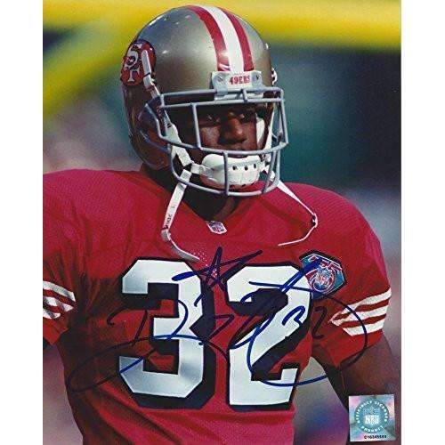 Ricky Watters, San Francisco 49ers, Niners, Signed, Autographed, 8x10 Photo, a COA with the Proof Photo of Ricky Signing the Photo Will Be Included.