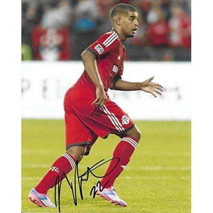 Jordan Hamilton, Toronto FC, Canada, Signed, Autographed, 8X10 Photo, a Coa with the Proof Photo of Jordan Signing Will Be Included.