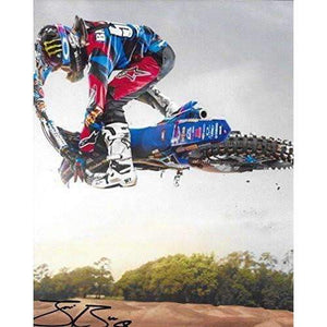 Justin Barcia, Supercross, Motocross, Freestyle Motocross, Signed, Autographed, 8X10 Photo, a COA Will Be Included