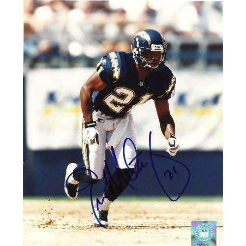 Eric Metcalf, San Diego Chargers, Texas Longhorns, Signed, Autographed, 8x10 Photo, Coa, Rare Hard Photo to Find