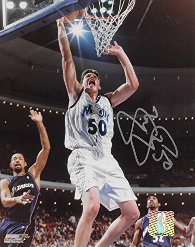 Mike Miller signed Orlando Magic basketball 8x10 photo COA