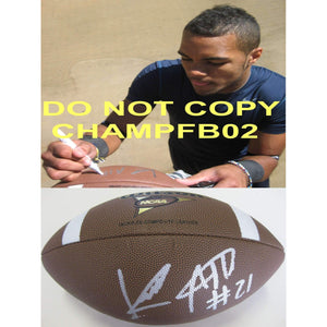 Keenan Allen, California, Cal Bears, Golden Bears, Signed, Autographed, Ncaa Football, a COA with the Proof Photo of Keenan Signing the Football Will Be Included