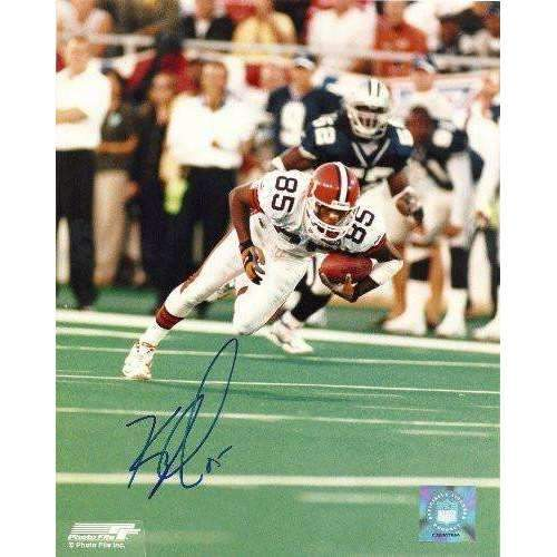 Kevin Johnson, Cleveland Browns, Syracuse, Signed, Autographed, 8x10 Photo, Coa, Rare Hard Photo to Find