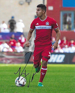 Brandon Vincent, Chicago Fire, Stanford, Signed, Autographed, 8X10 Soccer Photo - Coa with Proof