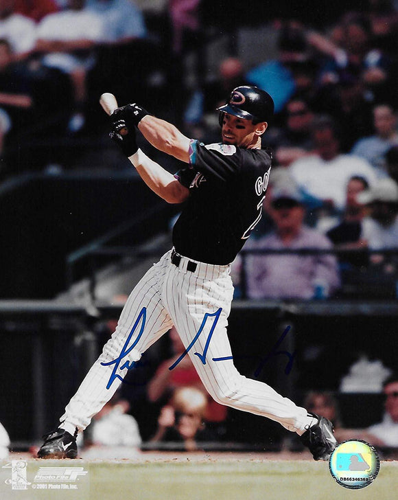 Luis Gonzalez Arizona Diamondbacks,d backs signed autographed, 8x10 Photo, COA with proof photo will be included