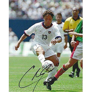 Cobi Jones, Los Angeles Galaxy, USA Mens Soccer Team, Fifa World Cup, Signed, Autographed, 8x10 Photo,.
