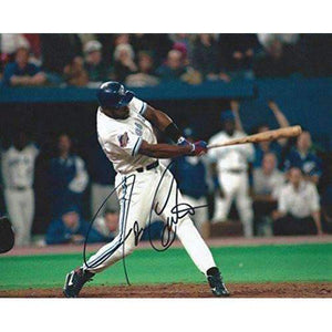 Joe Carter, Toronto Blue Jays, Signed, Autographed, 8x10 Photo, a COA with the Proof Photo Will Be Included..