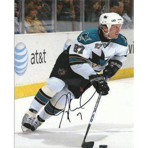 JEREMY ROENICK SAN JOSE SHARKS,SIGNED,AUTOGRAPHED 8X10,PHOTO,COA