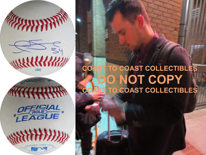 Andrew Susac Pittsburgh Pirates SF Giants signed autographed baseball COA proof
