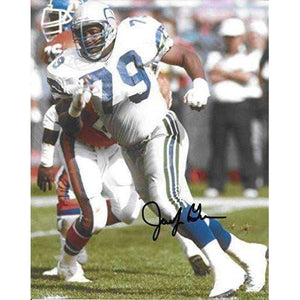 Jacob Green, Seattle Seahawks, Signed, Autographed, 8X10 Photo, a COA with the Proof Photo of Jacob Signing Will Be Included..