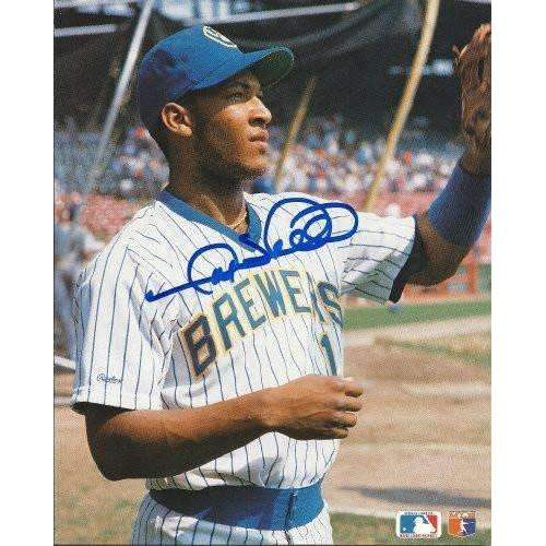Gary Sheffield, Milwaukee Brewers, Signed, Autographed, 8x10, Photo, A Coa with the Proof Photo of Gary Signing Will Be Included