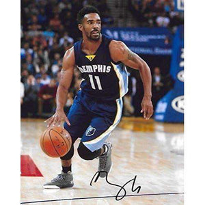 Mike Conley, Memphis Grizzlies, Signed, Autographed, Basketball, 8X10 Photo, a Coa with the Proof Photo of Mike Signing Will Be Included,,