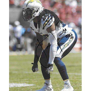 Jason Verrett, San Diego Chargers, Signed, Autographed, 8x10 Photo, a Coa with the Proof Photo of Jason Signing Will Be Include-