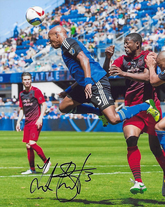 Jordan Stewart San Jose Earthquakes, England signed, autographed 8x10 photo, proof COA