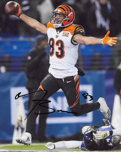 Tyler Boyd Cincinnati Bengals signed 8x10 photo proof COA.