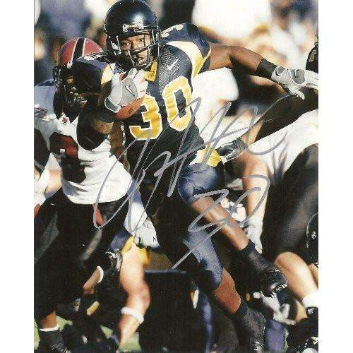 JJ ARRINGTON CALIFORNIA BEARS,GOLDEN BEARS,CARDINALS,SIGNED,AUTOGRAPHED 8X10,PHOTO,COA