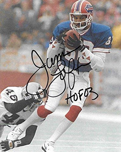 James Lofton, Buffalo Bills, Signed, Autographed, Football 8X10 Photo, a Coa with the Proof Photo of James Signing Will Be Included..