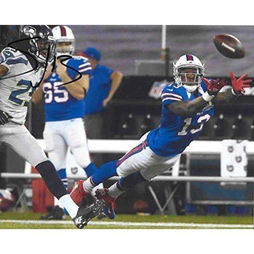 Steve Johnson, Buffalo Bills, Signed, Autographed, 8X10 Photo, a COA with the Proof Photo of Steve Signing Will Be Inlcuded