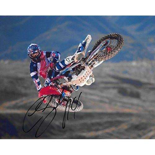 Cole Seely, Supercross, Motocross, Freestyle Motocross, Signed, Autographed, 8X10 Photo,