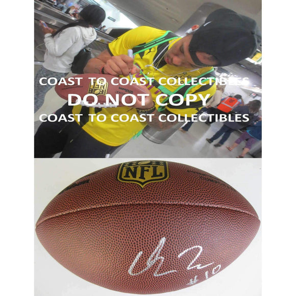 Chris Moore Baltimore Ravens, Cincinnati, Signed, Autographed, NFL Duke Football, a COA with the Proof Photo of Chris Signing Will Be Included