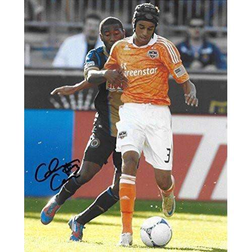 Calen Carr, Houston Dynamo, Cal Bears, Signed, Autographed, Soccer 8x10 Photo, a Coa with the Proof Photo of Calen Signing Will Be Included