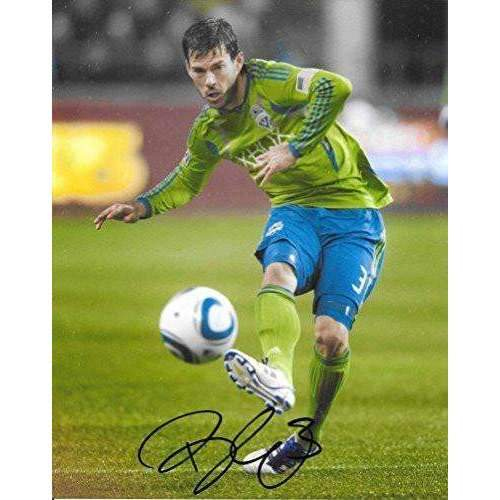 Brad Evans, Seattle Sounders FC, signed, autographed, Soccer 8x10 photo - COA with proof included
