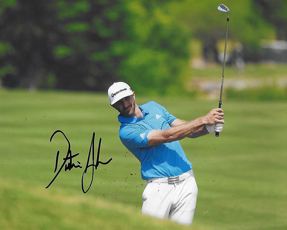 Dustin Johnson PGA Golfer signed, autographed 8x10 Photo. Proof COA