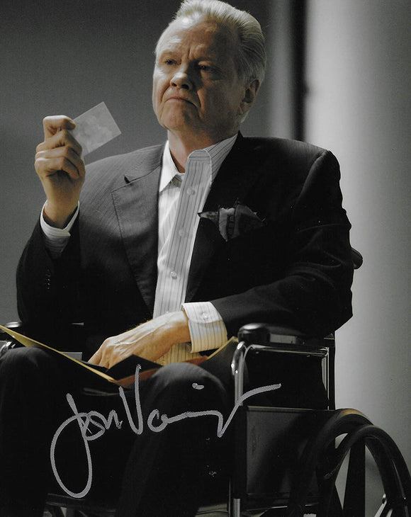 Jon Voight actor autographed 8x10 photo proof COA STAR