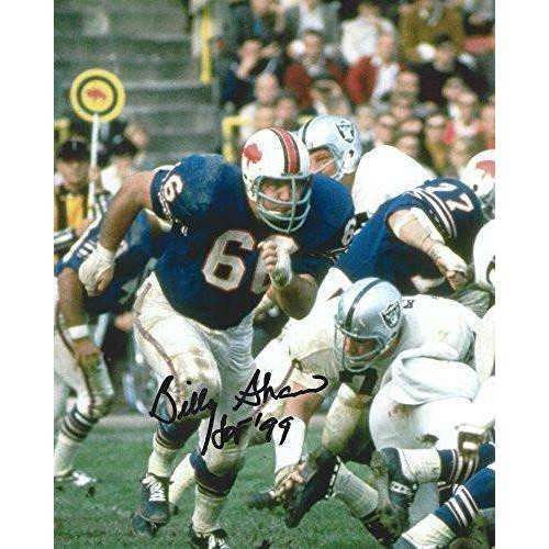 Billy Shaw, Buffalo Bills, Hof, signed, autographed, 8x10 photo - COA with the proof photo included