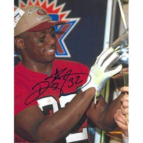 Ricky Watters, San Francisco 49ers, Niners, Signed, Autographed, 8x10 Photo, a COA with the Proof Photo of Ricky Signing the Photo Will Be Included==