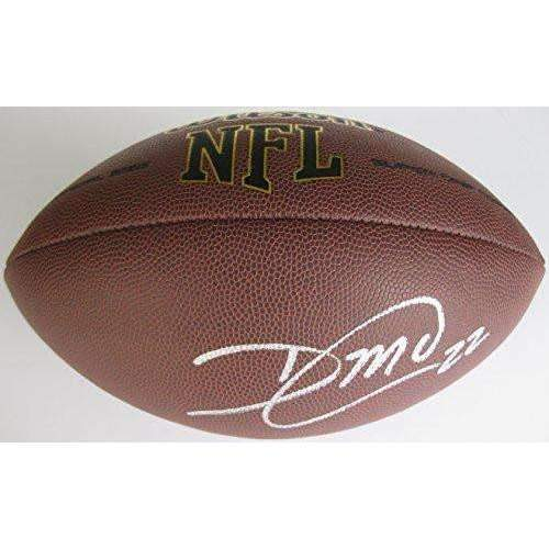 Dexter Mccluster Tennessee Titans, Kansas City Chiefs, Ole Miss signed, autographed NFL football