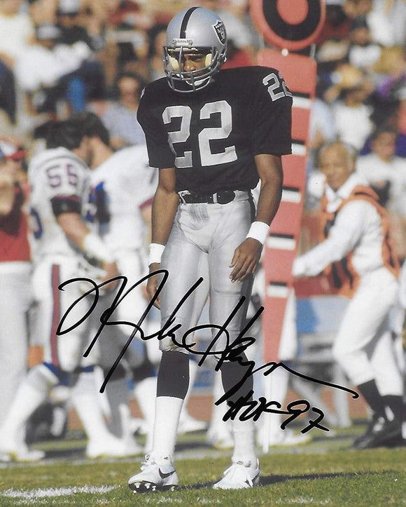 Mike Haynes Oakland Raiders signed, autographed, 8x10 Photo, proof COA