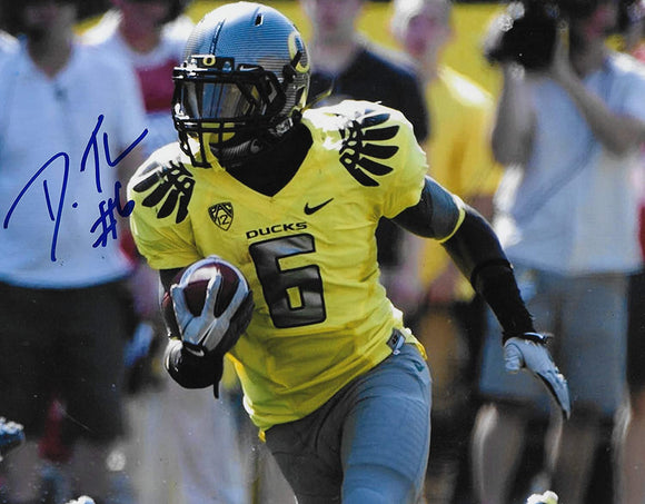 De'anthony Thomas Oregon Ducks signed autographed football 8x10 photo proof COA