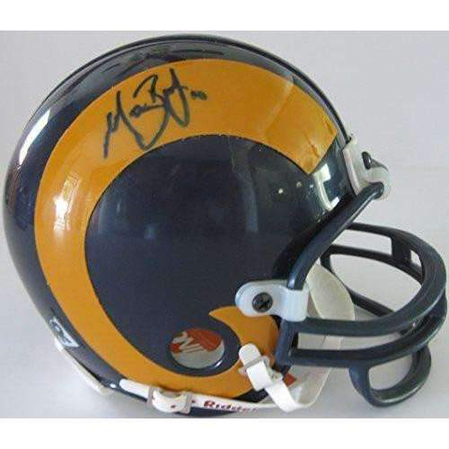 Marc Bulger, St Louis Rams, LA Rams, Signed, Autographed, Mini Helmet, a COA Will Be Included