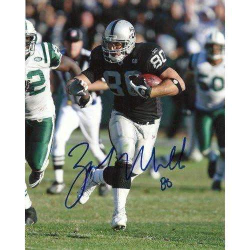 Zach Miller, Oakland Raiders, Arizona State ,Signed, Autographed, 8x10 Photo, Coa