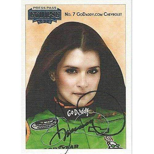 Danica Patrick, Nascar Driver, Signed, Autographed, 2010 PressPass Card #27. a COA Will Be Included