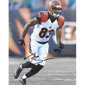 Tyler Boyd Cincinnati Bengals, Signed, Autographed, 8X10 Photo, a COA with the Proof Photo of Tyler Signing Will Be Included