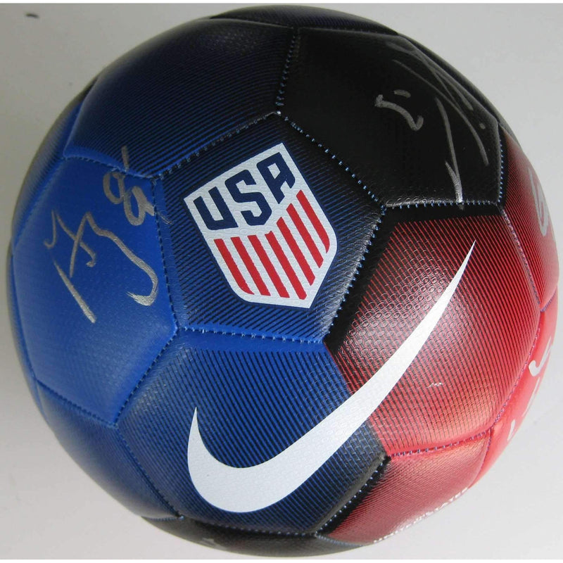 2017 USA Mens National Soccer Team, signed, autographed, USA Soccer Ball - COA and proof included.