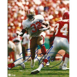 Ricky Watters, San Francisco 49ers, Niners, Signed, Autographed, 8x10 Photo, a COA with the Proof Photo of Ricky Signing the Photo Will Be Included
