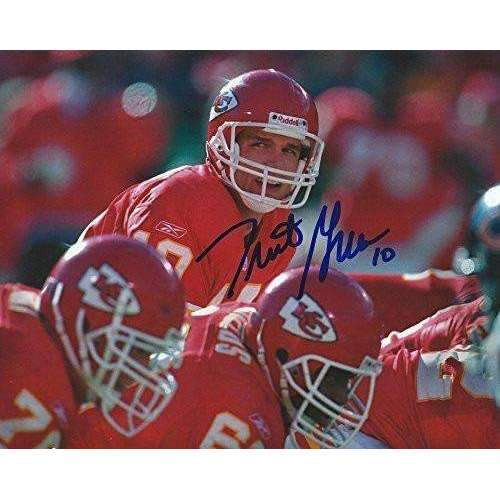 Trent Green, Kansas City Chiefs, Signed, Autographed, 8x10 Photo, Coa.