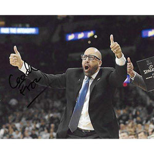 David Fizdale, Memphis Grizzlies, Signed, Autographed, Basketball, 8X10 Photo, a Coa with the Proof Photo of David Signing Will Be Included,,