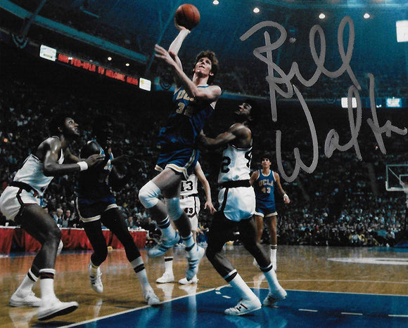 Bill Walton UCLA Bruins signed, autographed Basketball 8x10 photo, proof COA