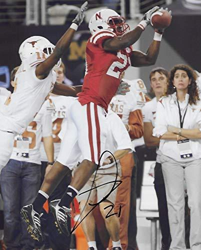 Prince Amukamara, Nebraska Cornhuskers signed autographed, 8x10 Photo, COA with the Proof Photo will be included