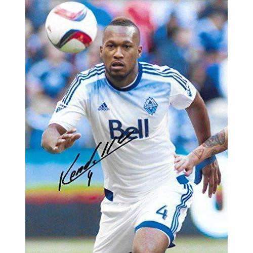 Kendall Waston, Vancouver Whitecaps FC, Signed, Autographed, 8X10 Photo, a Coa with the Proof Photo of Kendall Signing Will Be Included